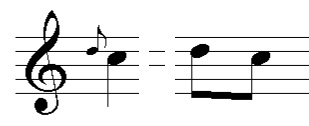 Image Result For Music Theory Appoggiatura